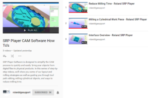 Roland Tutorial Videos   Technology Education Concepts, Inc