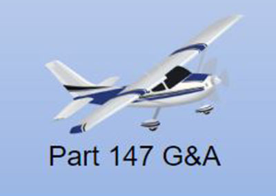 aviation-Part 147 G&A